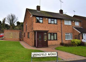 Thumbnail 3 bed semi-detached house for sale in Springfield Avenue, Swanley