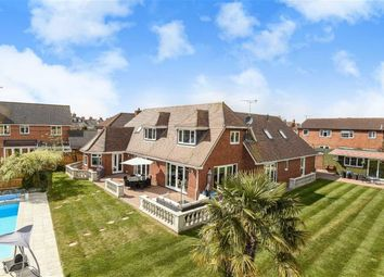 Thumbnail 4 bed detached house for sale in Bowman Close, Stratone Village, Wiltshire