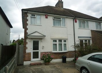Thumbnail 3 bedroom semi-detached house to rent in North Road, Three Bridges, Crawley