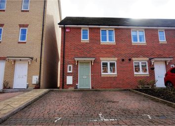 Thumbnail 3 bed end terrace house for sale in Cranwell Road, Farnborough