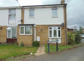 Thumbnail 3 bed end terrace house to rent in Hogarth Close, Burnham, Slough