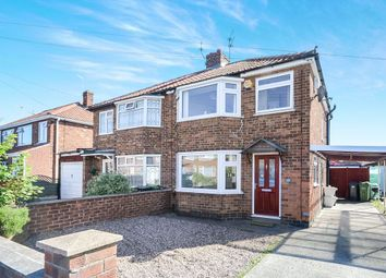 Thumbnail 3 bed semi-detached house to rent in Minster Avenue, York