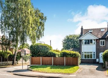 Thumbnail 4 bedroom semi-detached house for sale in Manor Avenue, Sale, Cheshire, Greater Manchester
