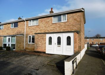 Thumbnail 3 bed end terrace house for sale in Defoe Crescent, Newton
