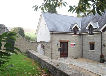 Thumbnail 4 bed semi-detached house for sale in Rectory Close, Llangattock, Crickhowell