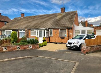 Thumbnail 2 bed semi-detached bungalow for sale in Cottage Row, Leicester