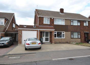 Thumbnail 4 bed semi-detached house for sale in Lulworth Avenue, Goffs Oak, Waltham Cross