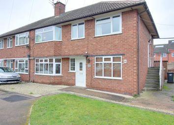 Thumbnail 2 bedroom maisonette for sale in Kedleston Close, Long Eaton, Nottingham