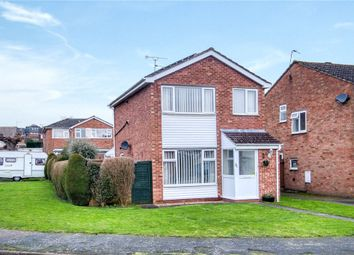 Thumbnail 3 bed detached house for sale in Brunel Close, Whitnash, Leamington Spa, Warwickshire