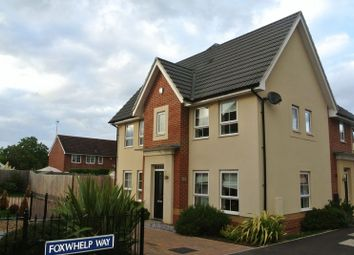 Thumbnail 3 bed semi-detached house for sale in Foxwhelp Way, Quedgeley, Gloucester