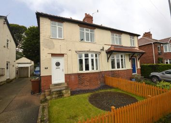 Thumbnail 3 bed semi-detached house for sale in Hawthorn Drive, Yeadon, Leeds, West Yorkshire