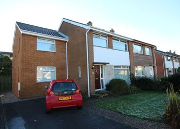 Thumbnail 4 bed semi-detached house for sale in Cranley Drive, Bangor