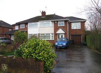Thumbnail 4 bed semi-detached house for sale in Stanney Lane, Ellesmere Port
