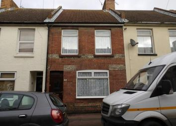 Thumbnail 2 bed terraced house for sale in Mead Road, Folkestone, Kent