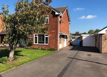 Thumbnail 2 bed semi-detached house for sale in Leacroft Road, Penkridge