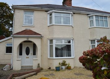 Thumbnail 3 bed semi-detached house to rent in Brookvale Road, West Cross, Swansea