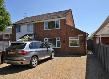 Thumbnail 2 bed semi-detached house for sale in Gonville Close, Heacham, King's Lynn