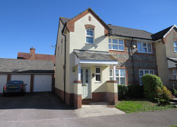 Thumbnail 3 bed semi-detached house for sale in Shottesford Avenue, Blandford Forum