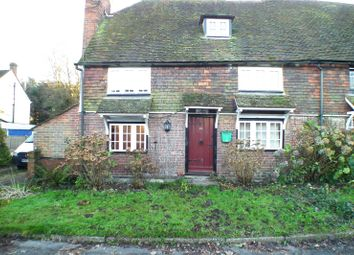 Thumbnail 2 bed end terrace house to rent in The Street, Mereworth, Maidstone, Kent