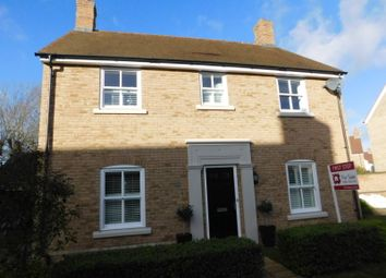 Thumbnail 4 bed detached house for sale in Edison Way, Fairfield, Stotfold, Herts