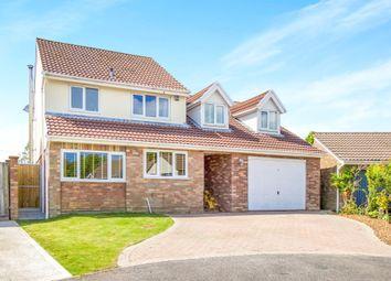 Thumbnail 4 bed detached house for sale in Ffordd Y Parc, Bridgend