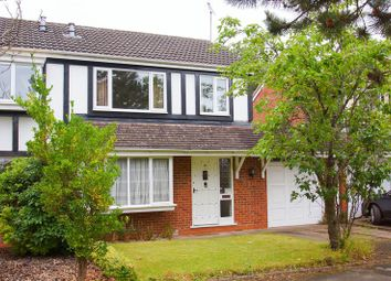 Thumbnail 3 bed semi-detached house for sale in Redstone Close, Redditch