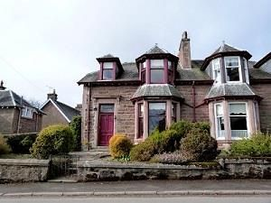 Thumbnail 4 bed property to rent in Station Road, Muthill, Crieff