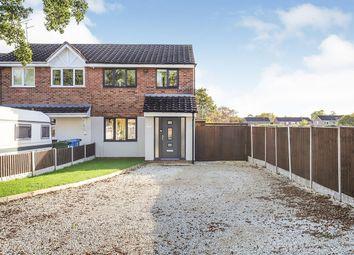 Thumbnail 3 bed semi-detached house for sale in Sandown Drive, Perton, Wolverhampton, Staffordshire