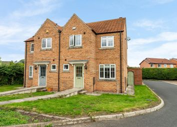 Thumbnail 3 bed semi-detached house for sale in Exelby Court, York