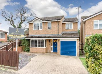 Thumbnail 4 bed detached house for sale in Whiteheart Close, Little Billing, Northampton