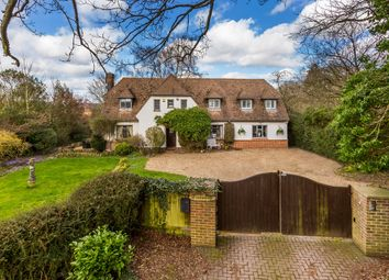 Thumbnail 4 bed detached house for sale in Ridlands Lane, Limpsfield Chart