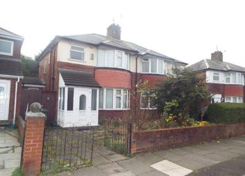 Thumbnail 3 bed semi-detached house for sale in Grosvenor Road, Liverpool, Merseyside, United Kingdom