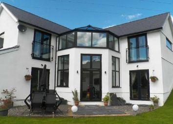Thumbnail 4 bedroom detached house for sale in Gnoll Road, Godrergraig, Swansea.