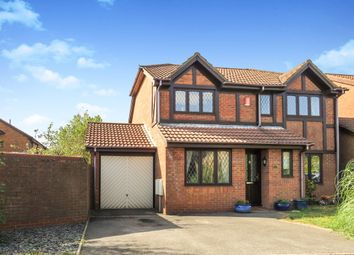 Thumbnail 4 bed detached house for sale in Charlotte Close, Poole