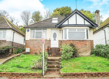 Thumbnail 3 bed bungalow for sale in Eley Crescent, Rottingdean, Brighton