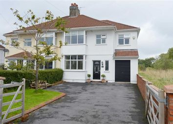 Thumbnail 4 bed semi-detached house for sale in Gower Road, Upper Killay, Swansea