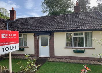 Thumbnail 2 bed semi-detached bungalow to rent in Mill Gardens, Dunster
