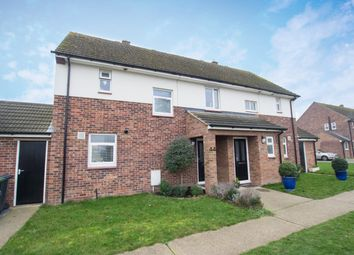 Thumbnail 2 bed semi-detached house for sale in Kirby Road, Waterbeach, Cambridge