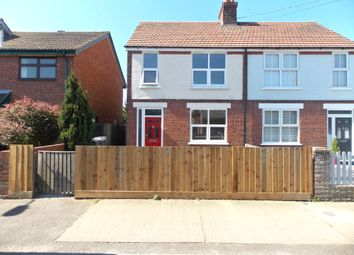 Thumbnail 3 bed end terrace house to rent in Sea Road, Felixstowe