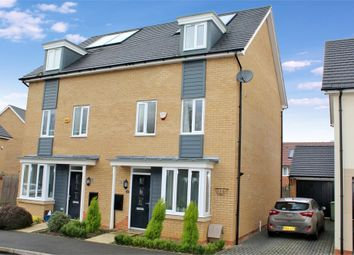 Thumbnail 4 bed semi-detached house for sale in Wilkinson Crescent, Wolverton, Milton Keynes, Buckinghamshire