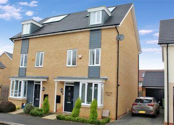 Thumbnail 4 bedroom semi-detached house for sale in Wilkinson Crescent, Wolverton, Milton Keynes, Buckinghamshire