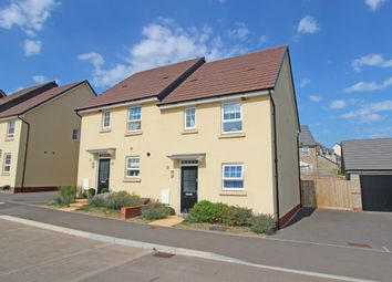 Thumbnail 3 bed semi-detached house for sale in Greystone Walk, Cullompton