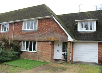 Thumbnail 4 bed semi-detached house to rent in The Withies, Longparish, Andover