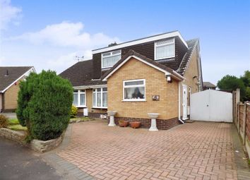 Thumbnail 3 bed semi-detached bungalow for sale in Ashcroft Avenue, Shavington, Crewe
