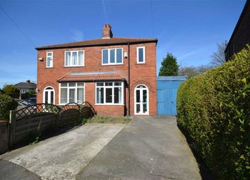 Thumbnail 3 bed semi-detached house for sale in Arnside Avenue, Heaton Chapel, Stockport, Greater Manchester