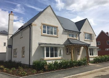Thumbnail 5 bed detached house for sale in Tadpole Garden Village, Blunsdon, Swindon