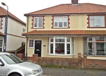 Thumbnail 4 bed semi-detached house to rent in Looe Road, Old Felixstowe, Felixstowe