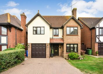 Thumbnail 4 bed detached house for sale in Victoria Road, Cold Norton, Chelmsford