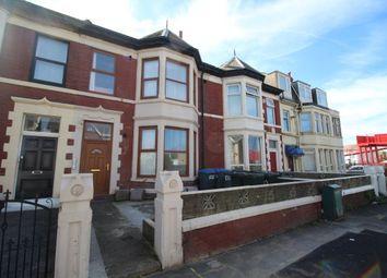 Thumbnail 1 bedroom flat to rent in Burlington Road, Blackpool