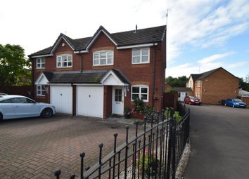 Thumbnail 3 bed semi-detached house for sale in Sheldon Close, Wychbold, Droitwich